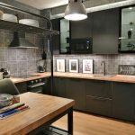Cocina Industrial Apartamento Gijon