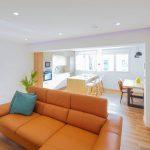 piso venta dos habitaciones cocina con isla gijon