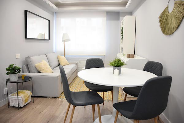 apartamento dos habitaciones alquiler oviedo centro